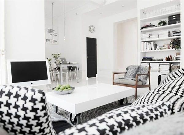 Шведская квартира с восхитительным интерьером