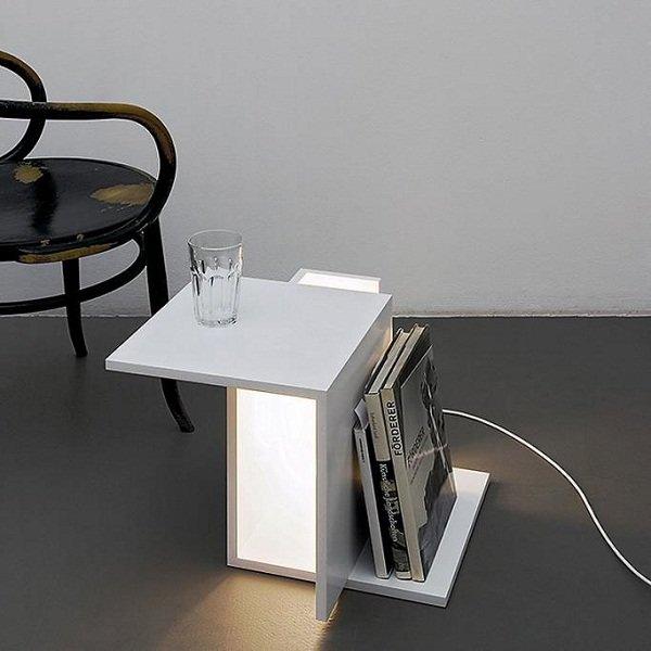 Столик-лампа от Клеменс Тисси