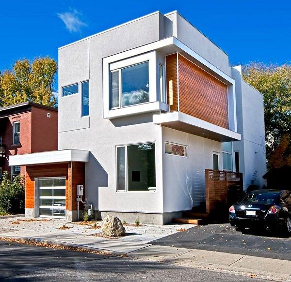 Современный дом в Оттаве от Linebox Studio