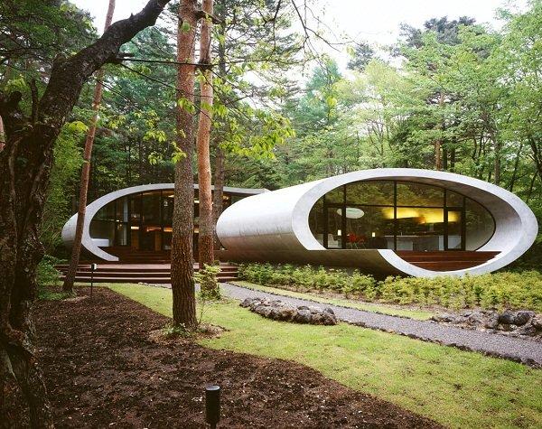 Ультрасовременный дом в Японии