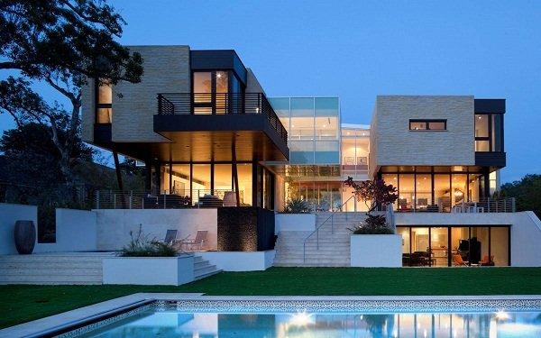 Роскошный дом от Hughes Umbanhowar Architects