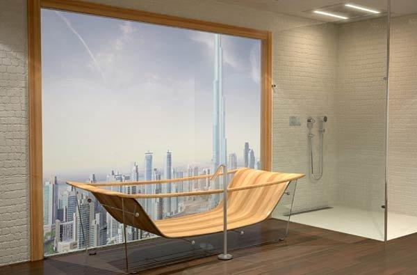 Дизайнерская ванна WAVE Diamond