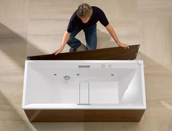 Легко устанавливаемые панели для ванны