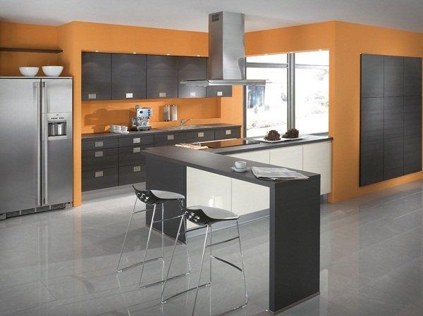 Кухни с современным дизайном от Ixina