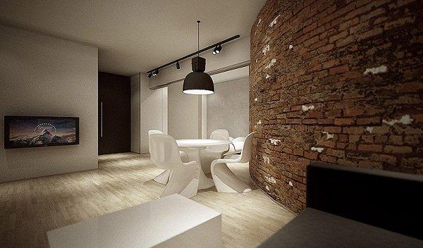 Лофт в минималистичном стиле