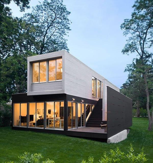 Потрясающий дом в Нью-Йорке