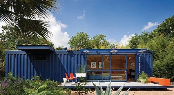 Гостевой домик из контейнера в Сан-Антонио