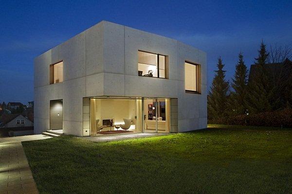 Бетонный дом от Atelier ST