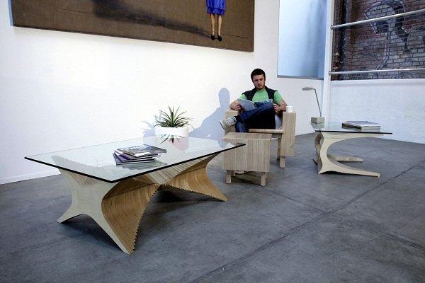 Новые столы и стулья от Cerno