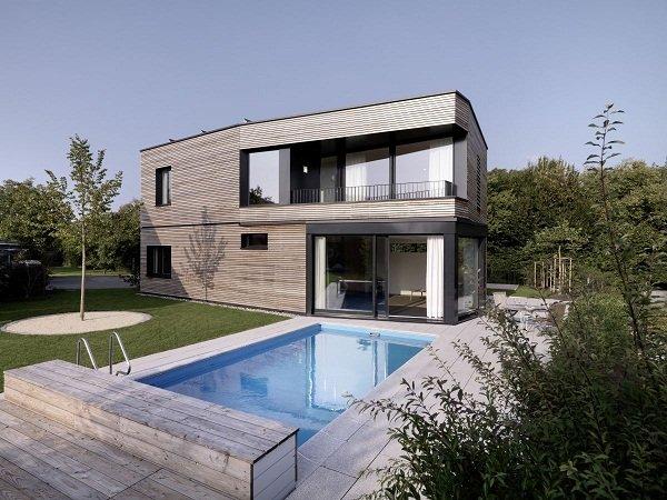 Дом в Цюрихе от Nimmrichter CDA