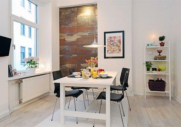 Светлая и уютная квартира в Швеции