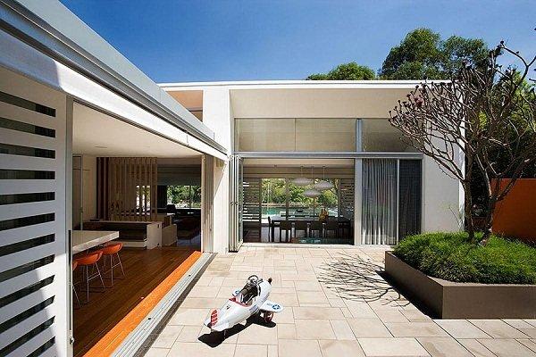 Современный дом в Австралии от Stanic Harding