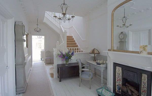 Лондонский дом с интерьером во французском стиле