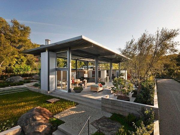 Современная резиденция в Калифорнии от Barton Myers Associates