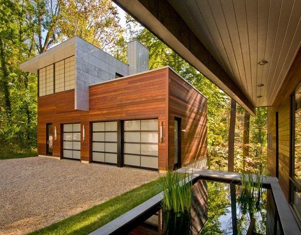 Современный дом в Мэриленде от Роберта Гурни