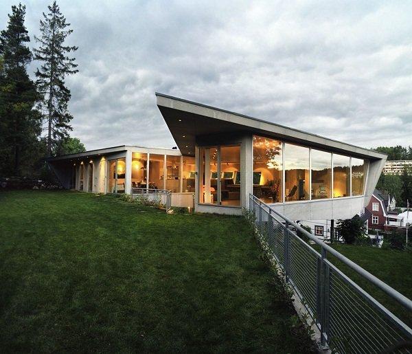 Современный дом в Колботе, Норвегия