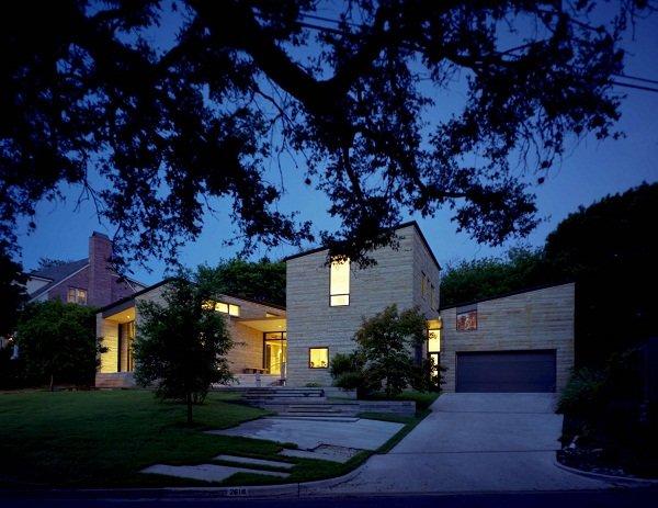 Каменный дом в Техасе от Ника Дивера