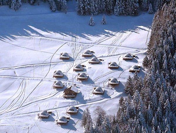 эко-курорт в Швейцарских Альпах