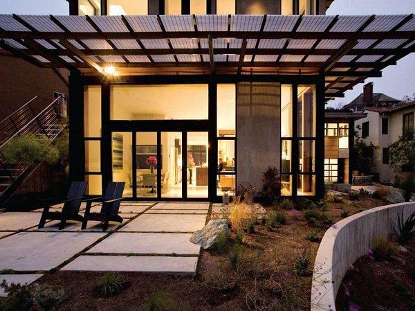 Энергоэффективный дом в Калифорнии