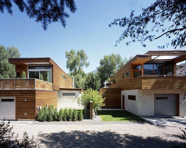 Два дома-близнеца в Колорадо