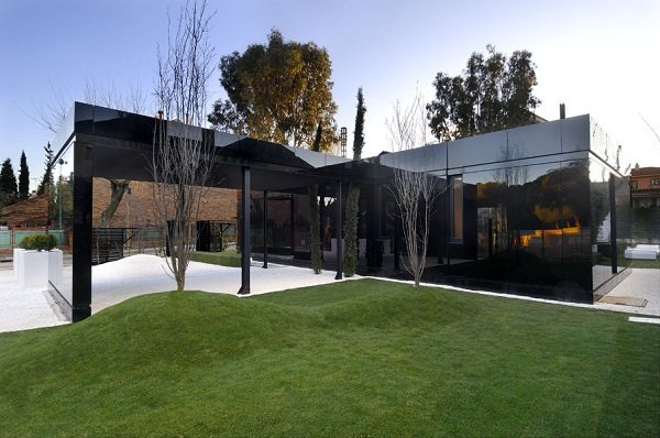 Модульный дом в Мадриде