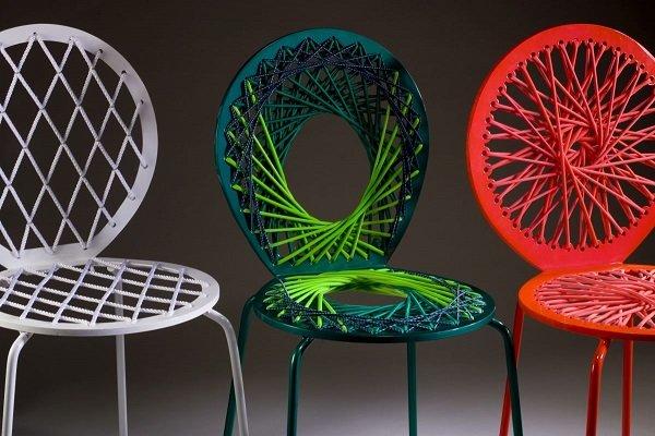 Яркие стулья от Carnevale Studio