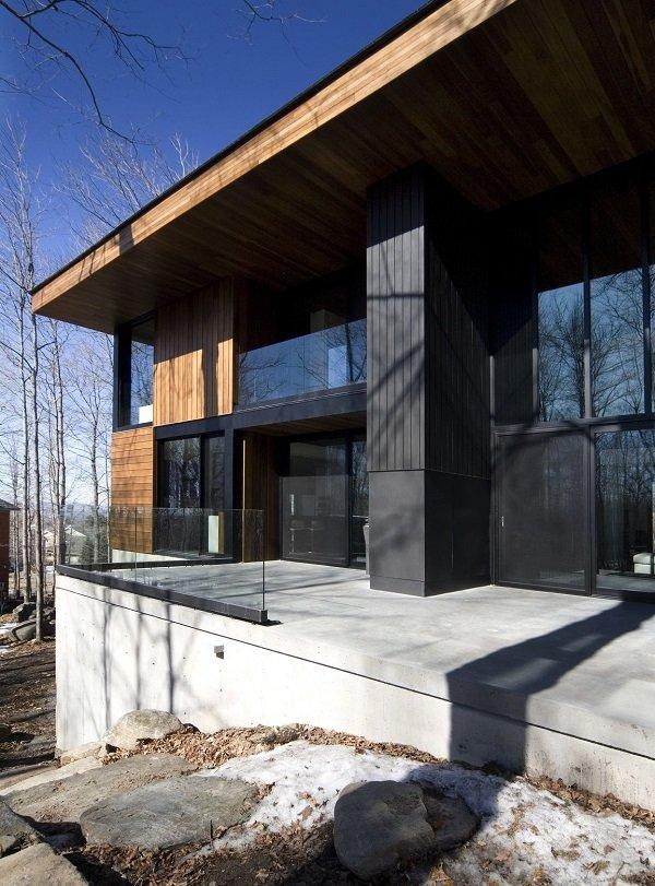 Дом в Квебеке