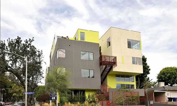 Роскошное городское жилье в Западном Голливуде