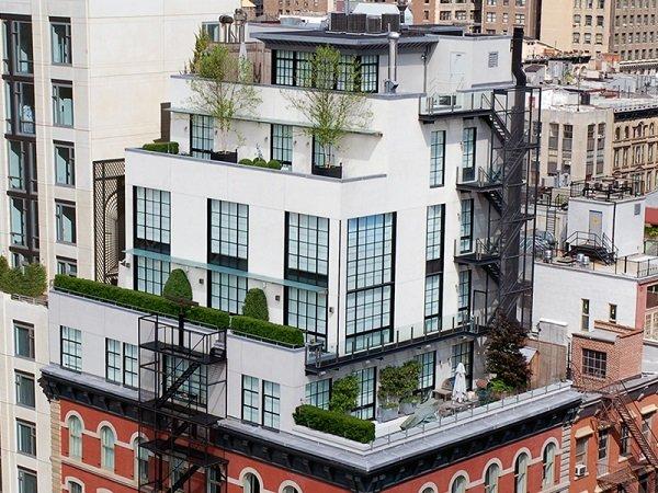 Пятиэтажный пентхаус в Нью-Йорке