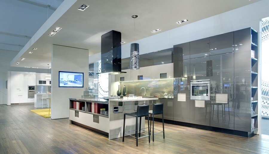 Кухни в стиле авангард